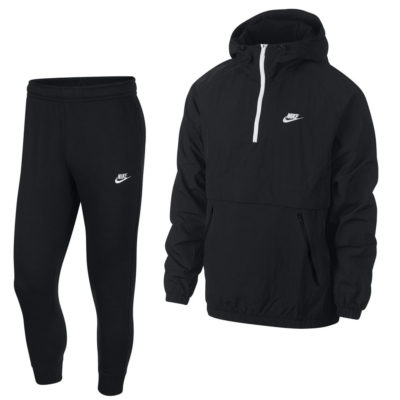 Nike NSW Anorak Trainingspak Zwart Wit