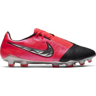 Nike Phantom VENOM Elite Gras Voetbalschoenen (FG) Roze Zwart