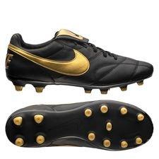 Nike Premier II FG - Zwart/Geel