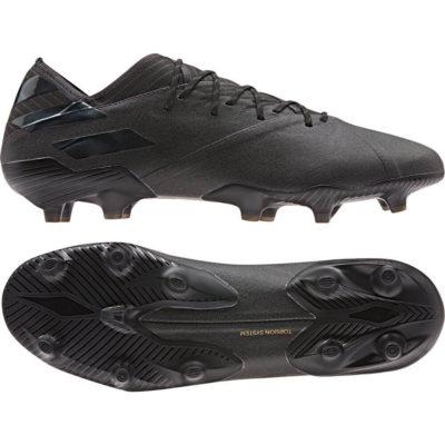 adidas NEMEZIZ 19.1 Gras Voetbalschoenen (FG) Zwart Zwart