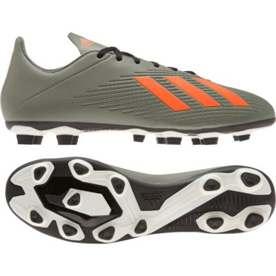 adidas X 19.4 Gras / Kunstgras Voetbalschoenen (FxG) Groen Oranje