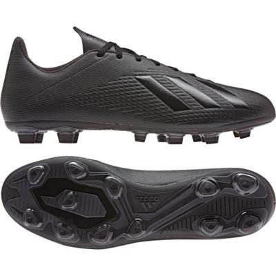 adidas X 19.4 Gras / Kunstgras Voetbalschoenen (FxG) Zwart Zwart