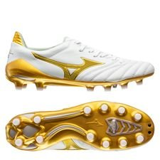 Mizuno Morelia Neo II Made in Japan FG Victory Gold - Wit/Goud