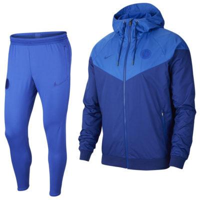Nike Chelsea Windrunner Trainingspak 2020 Hyperblauw