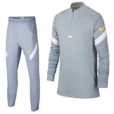 Nike Dry Strike Next Gen Trainingspak Kids Blauw Grijs