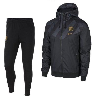 Nike Inter Milan Windrunner Trainingspak 2019-2020 Zwart