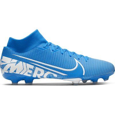 Nike Mercurial Superfly 7 ACADEMY Gras / Kunstgras Voetbalschoenen (MG) Blauw Wit Blauw