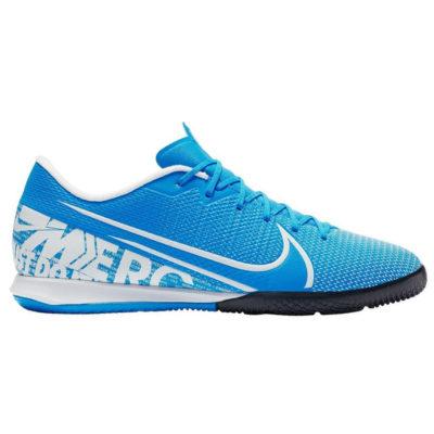 Nike Mercurial Vapor 13 ACADEMY Zaalvoetbalschoenen Blauw Wit Blauw