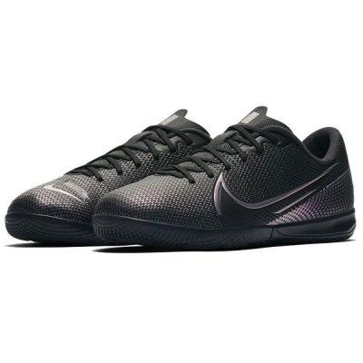 Nike Mercurial Vapor 13 Academy Zaalvoetbalschoenen (IC) Kids Zwart Zwart