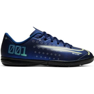 Nike Mercurial Vapor 13 Academy Zaalvoetbalschoenen Kids Blauw Geel