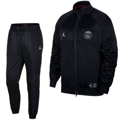 Nike Paris Saint Germain AIR Jordan Trainingspak 2019-2020 Zwart