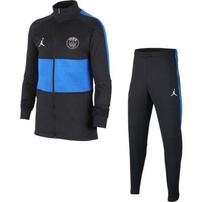 Nike Paris Saint Germain Dry Strike Trainingspak Kids 4rd 2019-2020 Zwart Blauw