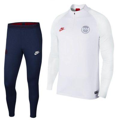 Nike Paris Saint Germain Strike Trainingspak Wit Platinum 2019-2020