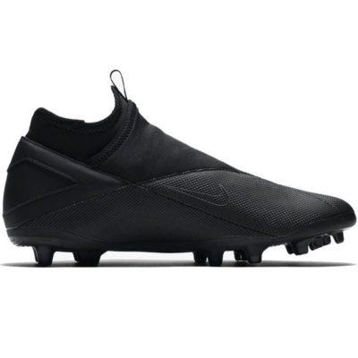 Nike Phantom VSN 2 Club DF Gras / Kunstgras Voetbalschoenen (MG) Zwart Zwart