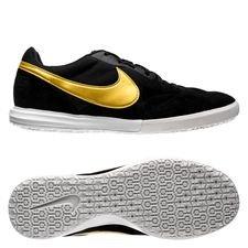 Nike Premier II Sala IC - Zwart/Goud/Wit