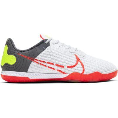 Nike React Gato Zaalvoetbalschoenen (IN) Wit Rood Donkergrijs