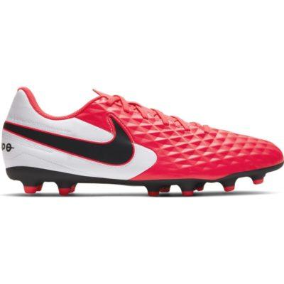 Nike Tiempo Legend 8 Club Gras / Kunstgras Voetbalschoenen (MG) Roze Wit Zwart