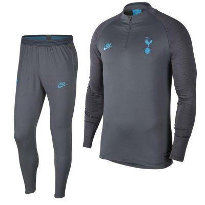 Nike Tottenham Hotspur Strike Trainingspak 2019-2020 Grijs Blauw