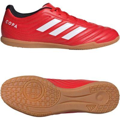 adidas COPA 20.4 Zaalvoetbalschoenen (IN) Rood Wit Zwart