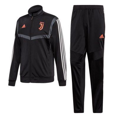 adidas Juventus Trainingspak 2019-2020 Zwart Wit