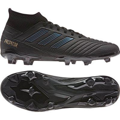 adidas PREDATOR 19.3 Gras Voetbalschoenen (FG) Zwart Zwart