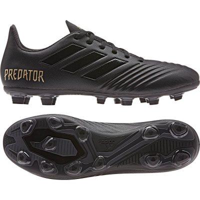 adidas PREDATOR 19.4 Gras / Kunstgras Voetbalschoenen (FxG) Zwart Zwart
