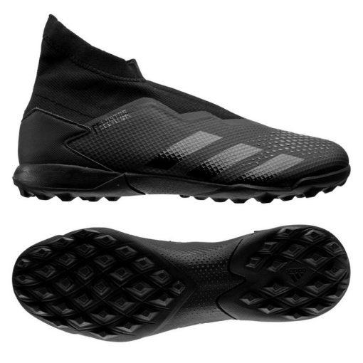 adidas PREDATOR 20.3 LL Turf Voetbalschoenen (TF) Zwart Zwart Grijs