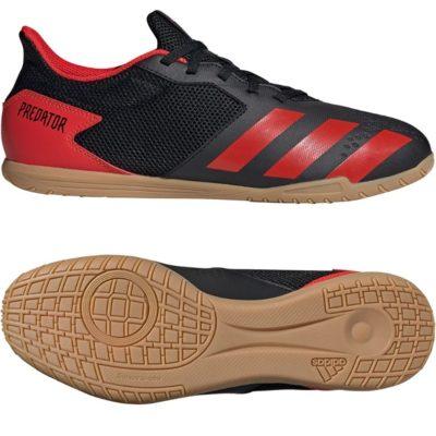 adidas PREDATOR 20.4 Sala Zaalvoetbalschoenen (IN) Zwart Rood Zwart