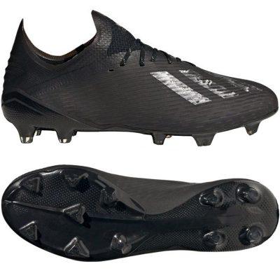 adidas X 19.1 Gras Voetbalschoenen (FG) Zwart Zilver