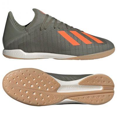 adidas X 19.3 Zaalvoetbalschoenen Groen Oranje