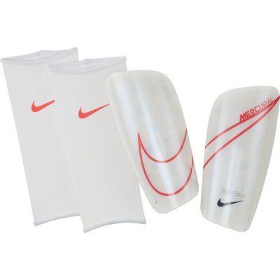 Nike Mercurial Lite Scheenbeschermers Wit Rood