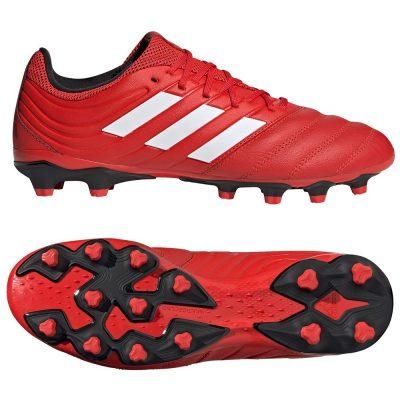 adidas COPA 20.3 Gras / Kunstgras Voetbalschoenen (MG) Rood Wit Zwart