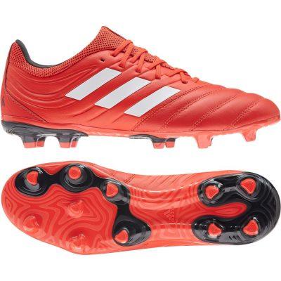adidas COPA 20.3 Gras Voetbalschoenen (FG) Rood Wit Zwart