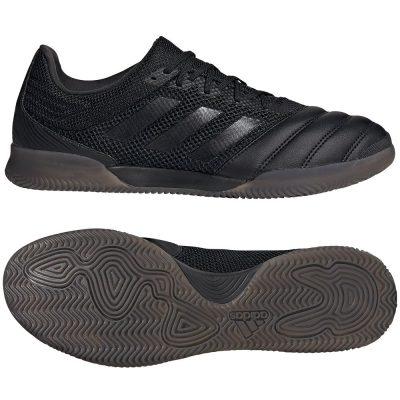 adidas COPA 20.3 SALA Zaalvoetbalschoenen (IN) Zwart Zwart Grijs