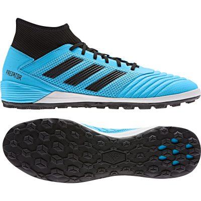 adidas PREDATOR 19.3 Turf Voetbalschoenen Blauw Zwart
