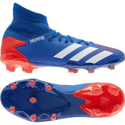 adidas PREDATOR 20.3 Gras Voetbalschoenen (FG) Blauw Wit Rood