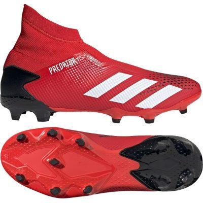 adidas PREDATOR 20.3 LL Gras Voetbalschoenen (FG) Rood Wit Zwart