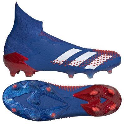 adidas PREDATOR MUTATOR 20+ Gras Voetbalschoenen (FG) Blauw Wit Rood