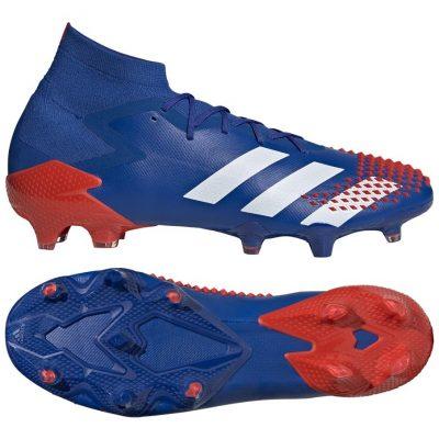 adidas PREDATOR MUTATOR 20.1 Gras Voetbalschoenen (FG) Blauw Wit Rood