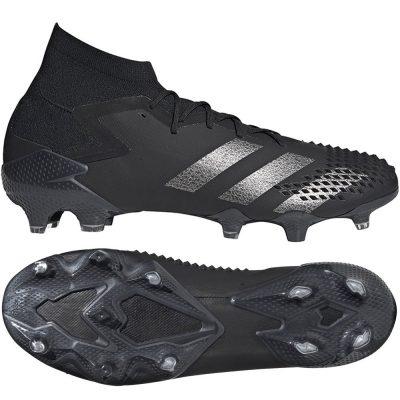 adidas PREDATOR MUTATOR 20.1 Gras Voetbalschoenen (FG) Zwart Zilver