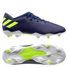 adidas Nemeziz Messi 19.3 FG/AG - Blauw/Groen/Paars Kinderen