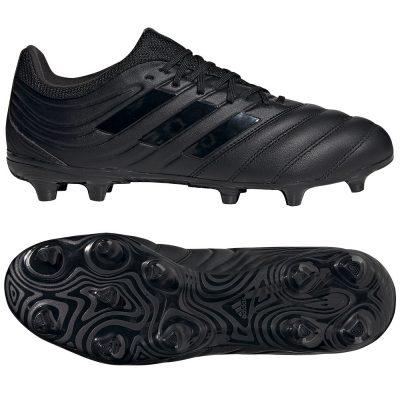 adidas COPA 20.3 Gras Voetbalschoenen (FG) Zwart Zwart Grijs