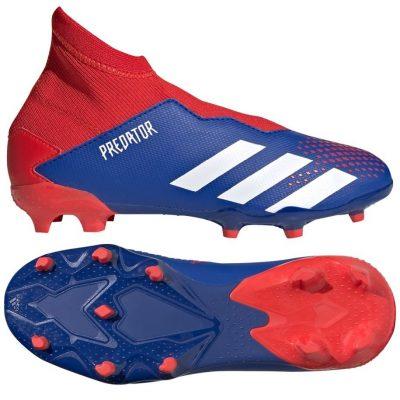adidas PREDATOR 20.3 LL Gras Voetbalschoenen (FG) Blauw Wit Rood