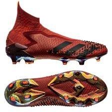 adidas Predator 20+ FG/AG Dragon - Bordeaux/Zwart/Rood LIMITED EDITION