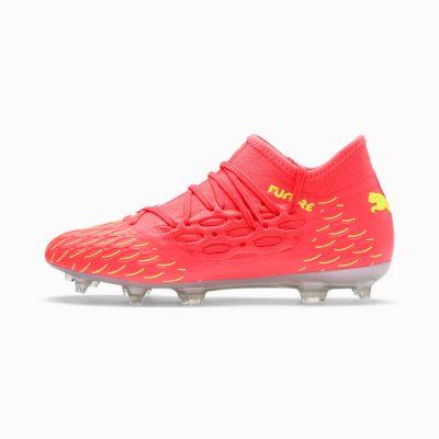 FUTURE 5.3 FG/AG voetbalschoenen, Roze/Geel   PUMA