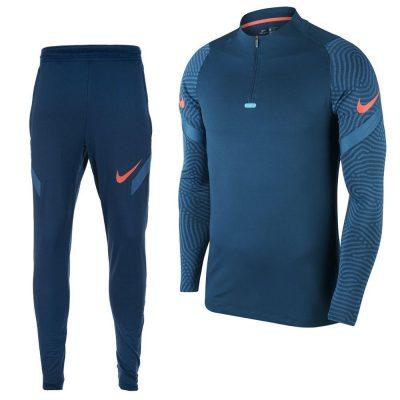 Nike Dry Strike Next Gen Trainingspak Donkerblauw Roze
