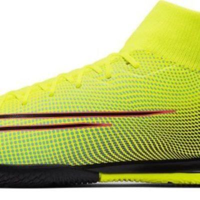 Nike Mercurial Superfly 7 Academy MDS Zaalvoetbalschoenen (IC) Geel Blauw Roze