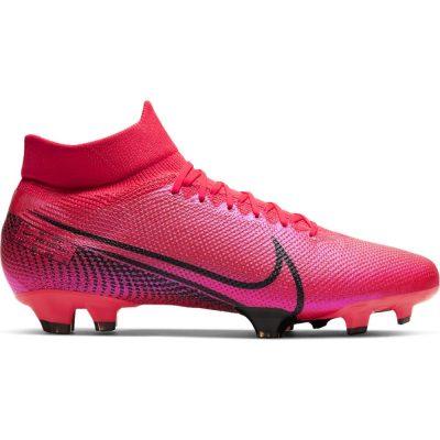Nike Mercurial Superfly 7 Pro Gras Voetbalschoenen (FG) Roze Zwart