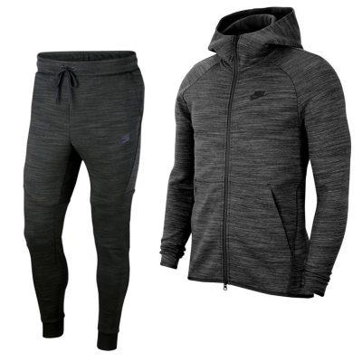 Nike Tech Fleece Elite Trainingspak Zwart Donkergrijs