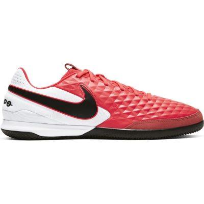 Nike Tiempo Legend 8 Academy Zaalvoetbalschoenen (IC) Roze Wit Zwart